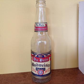 Du Bois Budweiser bottle  - Bottles