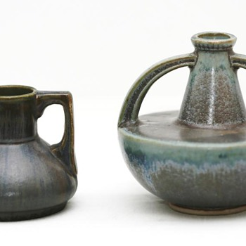 Two Small Vases, (France), 1920-1930 - Pottery