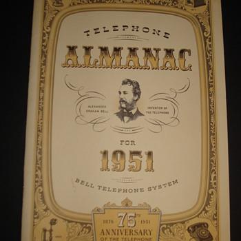 TELEPHONE ALMANAC FOR 1951 - Telephones