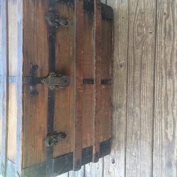 Old trunk find  - Furniture
