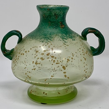 Glass Vase with Patinadekor - but is it Loetz? - Art Glass