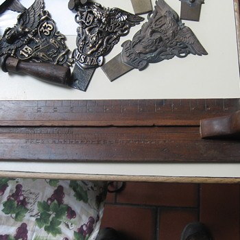 Antique Foot Size Gauge for Shoes - Tools and Hardware