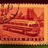 Vintage Magyar Posta 2 50Ft Stamp ~ Used