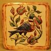 Handmade and beautifully glazed pottery tile