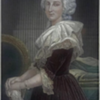 Marie Antoinette Antique Color Engraving From an original painting by Chappel Circa 1873
