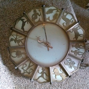 zodiac clock - Clocks
