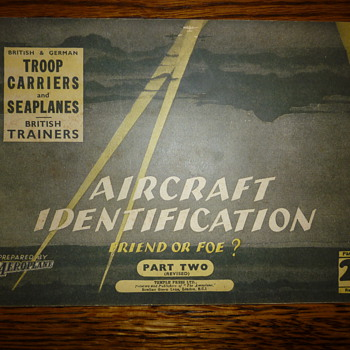 WWII Aircraft Identification book (part two) - Military and Wartime
