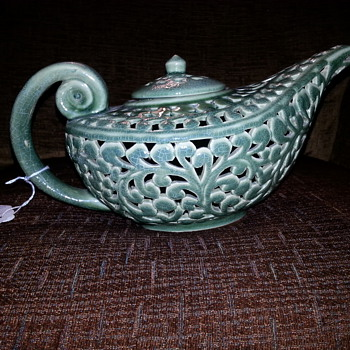Scent Kettle - Pottery