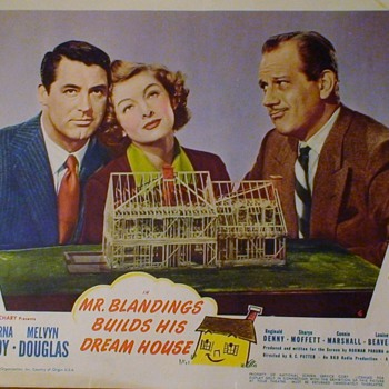 Mr. Blandings Builds His Dream House Original Lobby Cards 1938 Cary Grant Myrna Loy