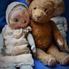 Cuddly googly doll