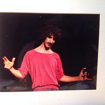 rare frank zappa photo  - Photographs