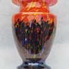 "Kralik ""Iris"" bottom-up spatter vase"