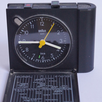 Braun Travel Alarm Clock AB313 - Clocks