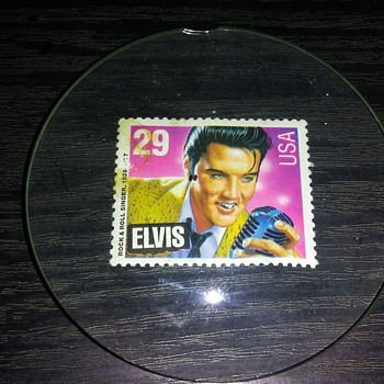 The Elvis Stamp.... - Music Memorabilia