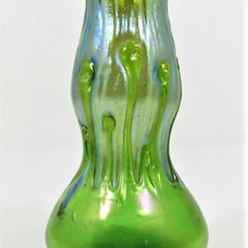 Loetz Creta mit Behänge ca. 1900 PN II-528  - Art Glass