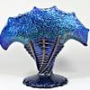 Loetz Cobalt Papillon vase by Edward Prochaska ca.1918-20's