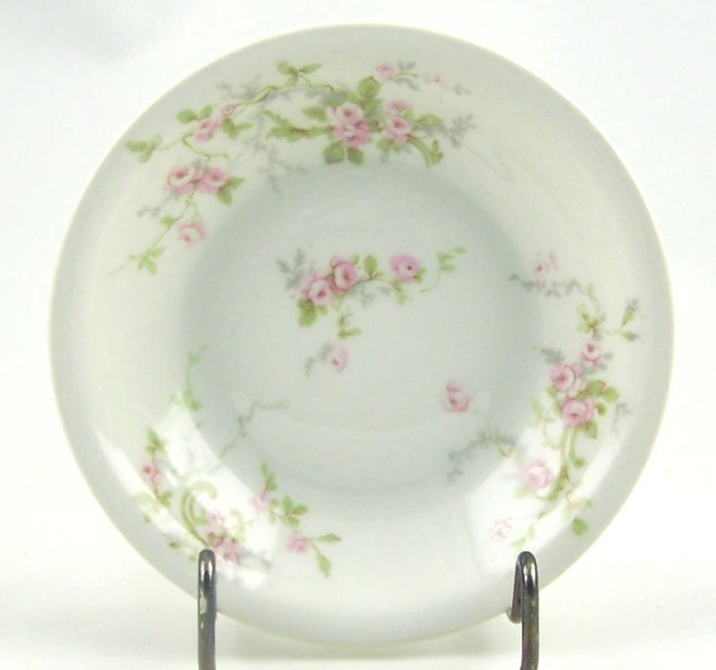 Theodore Haviland France Limoges Bowls in Pink Spray Pattern ...