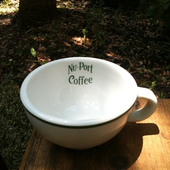 Vintage NU-PORT Coffee Cup - China and Dinnerware