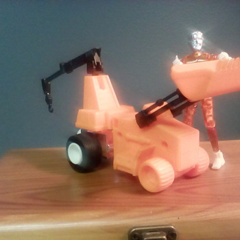 "Micronauts "" Crater Cruncher "" - Toys"