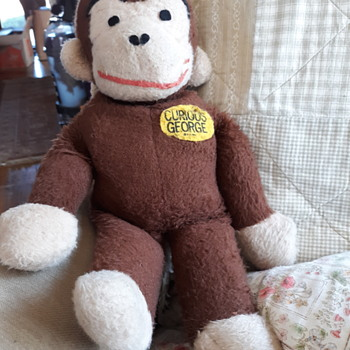 Curious George Stuffed Animal - Animals