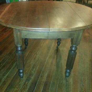 Buffalo Hardware Co Drop Leaf Table - Furniture