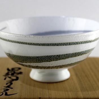 Glass bowl by Masahiro Horikoshi - Art Glass