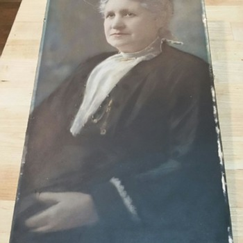 Old Portrait - Fine Art