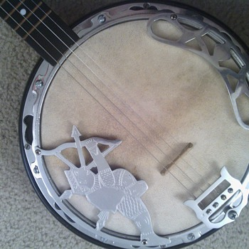 I'm trying to find out what kind of banjo this is.   - Guitars