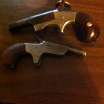 My little 22 cal pocket pistols - Military and Wartime