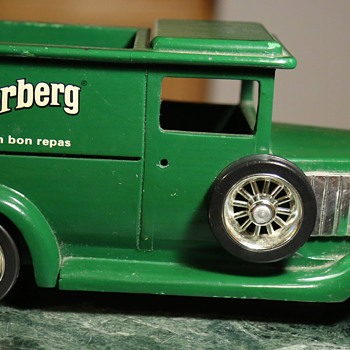 Underberg Bitters Advertising Piece - Wooden Car - Advertising