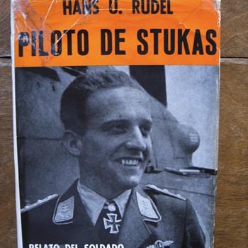 PILOTO DE STUKAS..SIGNED BY HAN'S U RUDEL