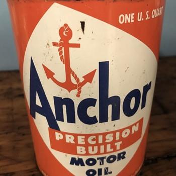 My Anchor Oil Cans - Petroliana