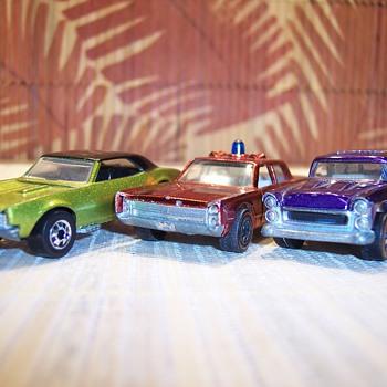 67 Camaro, Fire Chief Cruiser & Classic Nomad - Model Cars