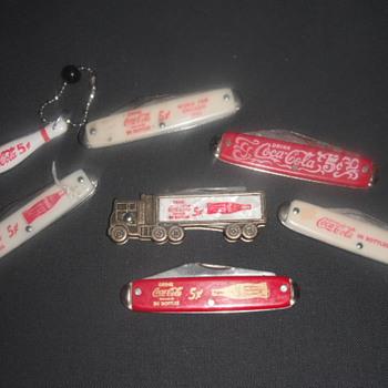 Coke Knife Collection - Coca-Cola