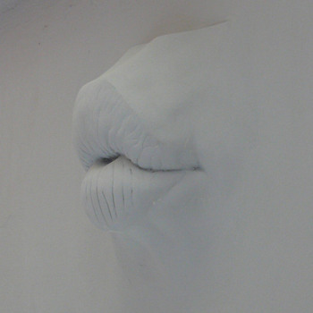 my lady's kiss as a wall relief - Fine Art