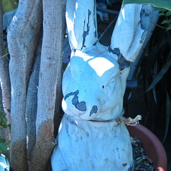 The ghostly rabbit (pottery statue)  - Pottery