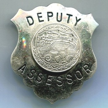 Hayward Wisconsin Deputy Assessor Badge