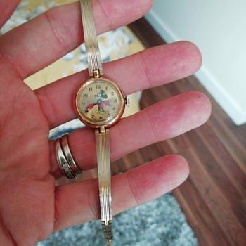 Bradley 17 jewels Mickey mouse watch  - Wristwatches