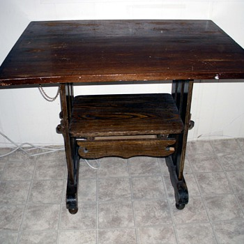 Newly purchased table - Furniture