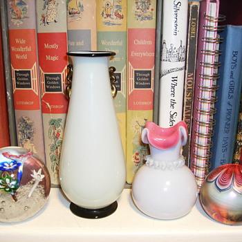 PaperWeight+MysteryVase+MysteryVase+PaperWeight=???? - Art Glass