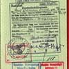 1944 German diplomatic visa from Ankara - Turkish Diplomatic passport