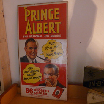 nos  prince albert sign - Tobacciana