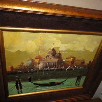 Nautical Oil on Canvas - Fine Art