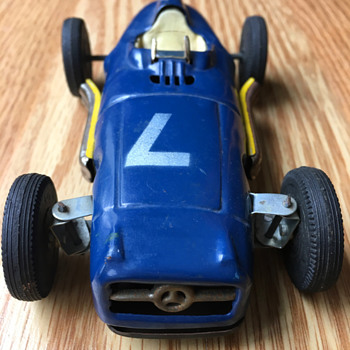 Linemar Toys Mercedes Friction  Racer - Model Cars