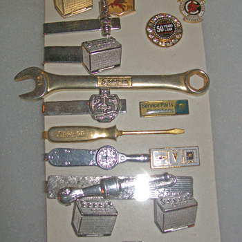 Pins cuff links and tie tacks - Accessories