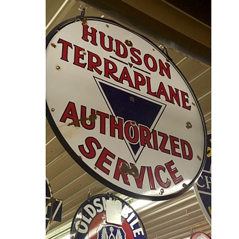 Hudson Terraplane Sign - Signs