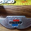 United Airlines Future Stewardess Flight Wings Pin
