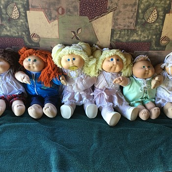 Pre 1990 cabbage patch dolls o - Dolls
