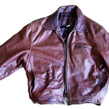 COCA COLA + OLYMPICS (World Wide Partners) -- Leather Jacket aka ( COKE ) - Mens Clothing