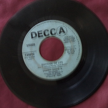 1969 Decca Records 45RPM